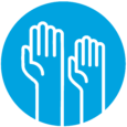 NDE Landing Page Icons_Cyan with white_Community Advocates