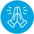NDE Landing Page Icons_Cyan with white_Faith