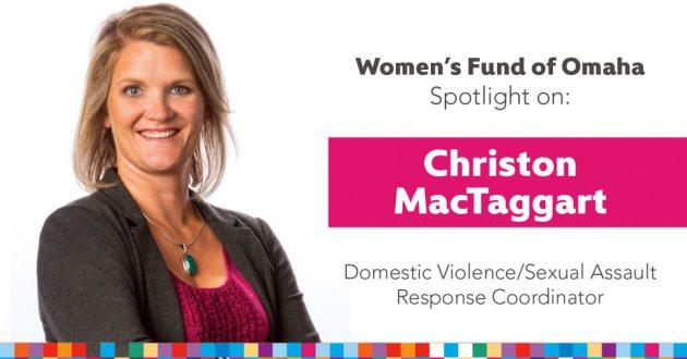 Women's Fund Employee Spotlight: Christon MacTaggart