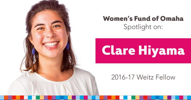 Women's Fund Employee Spotlight: Clare Hiyama