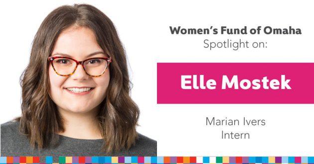 Women's Fund Employee Spotlight: Elle Mostek