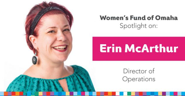 women's fund employee spotlight: erin mcarthur