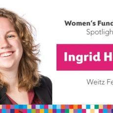 Women's Fund Employee Spotlight: Ingrid Hofeldt