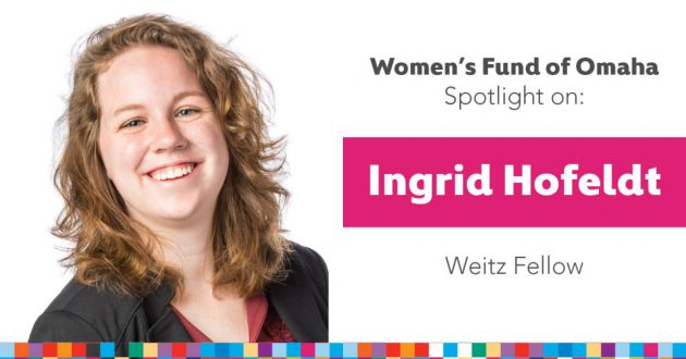 Women's Fund Employee Spotlight: Ingrid Hofeldt