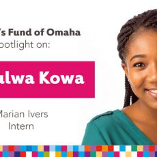 Women's Fund Employee Spotlight: Nduulwa Kowa