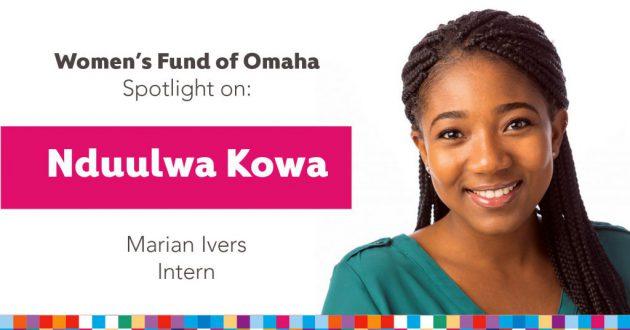 Women's Fund Employee Spotlight: Nduulwa Kowa