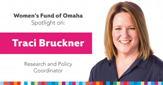 Women's Fund Employee Spotlight: Traci Bruckner